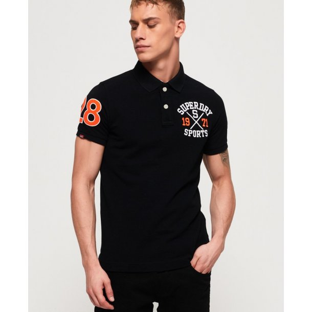 Classic superstate pique polo sort