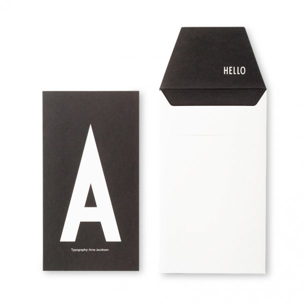Design Letters Card/Env. A