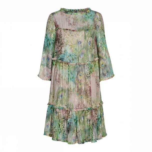 Frill dress 34516 col. 3959