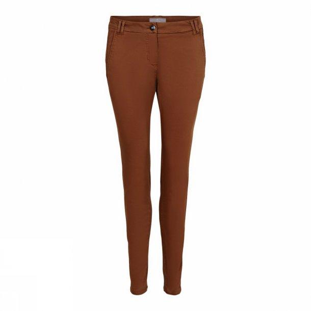 Casual stretch pants 33010 Brun