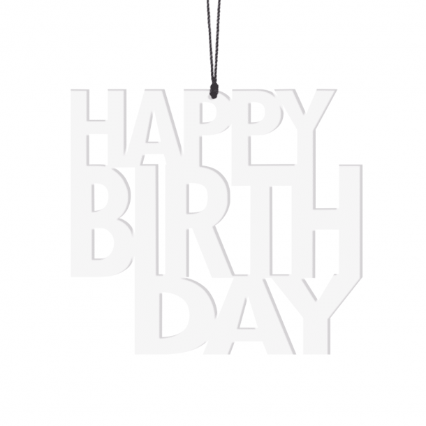 Fellius happy birthday hvid