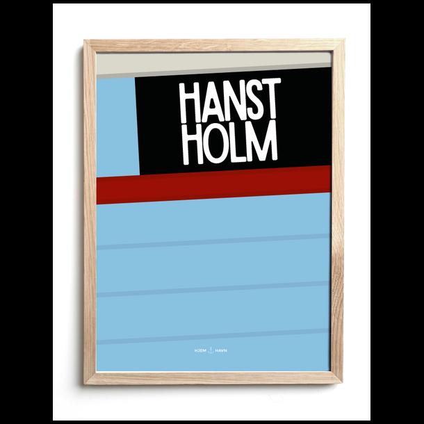 Hjemhavn kutter Hanstholm 30x40