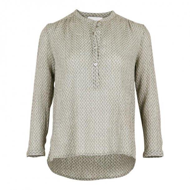 Gunbrit crepe shirt 150942