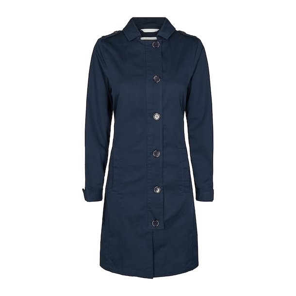 Anne jacket. Col Duke Blue
