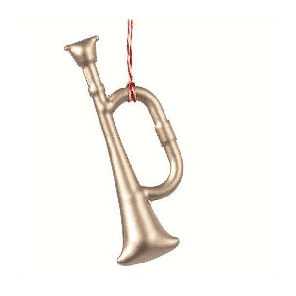 Maileg ornament trompet sølv