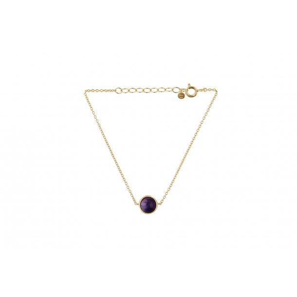 Aura amethyst bracelet