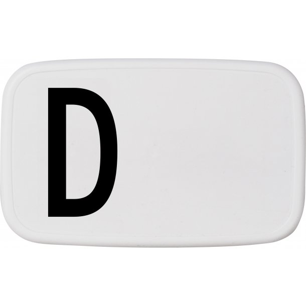 Design Letters Lunch Box D