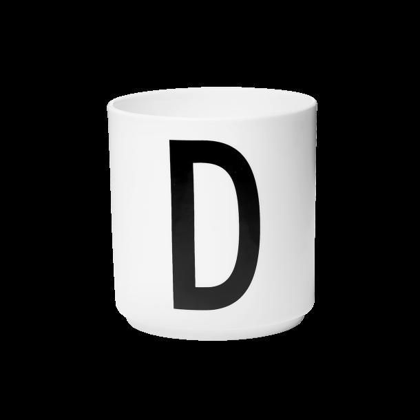 Design Letters Cup D Porcelain