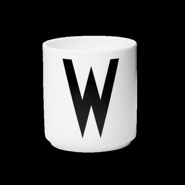 Design Letters Cup W Porcelain