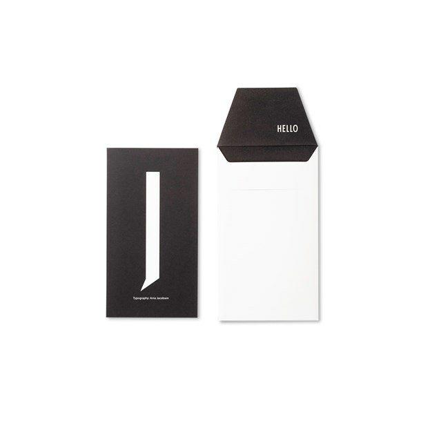 Design Letters Card J