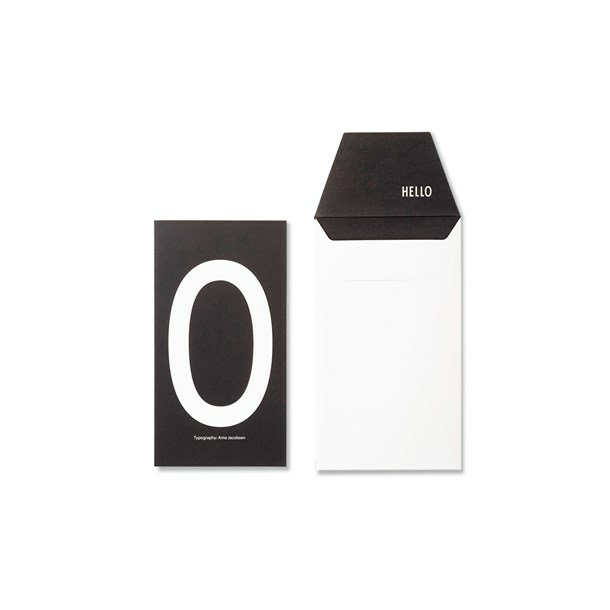 Design Letters Card O