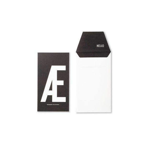 Design Letters Card Æ