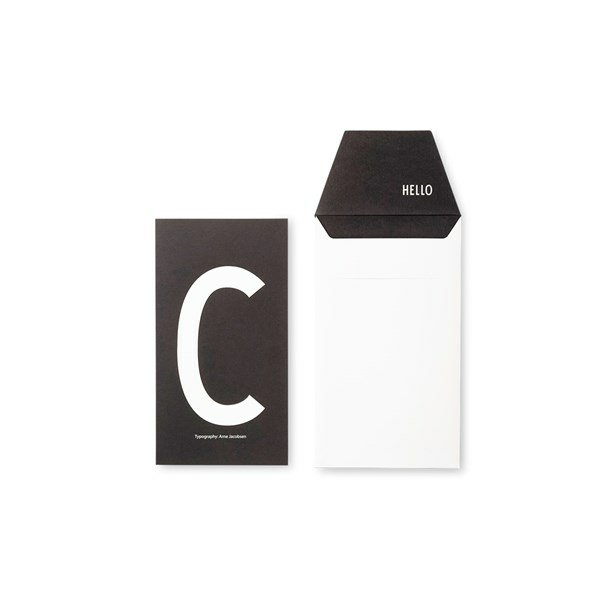 Design Letters Card C