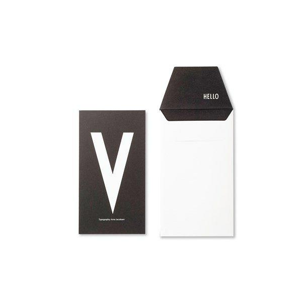 Design Letters Card V
