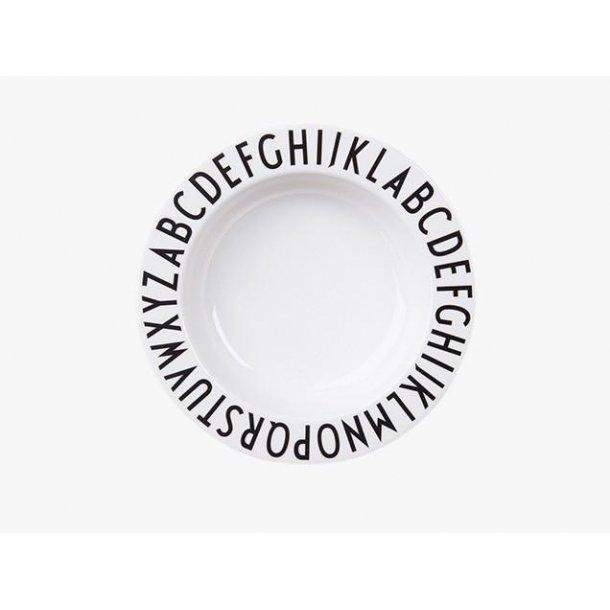 Design Letters Melamine deep plate