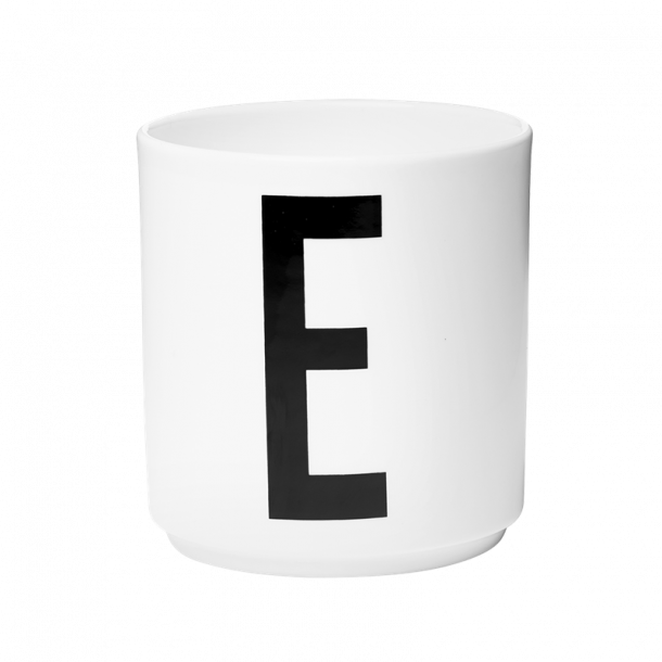 Design Letters Cup E Porcelain
