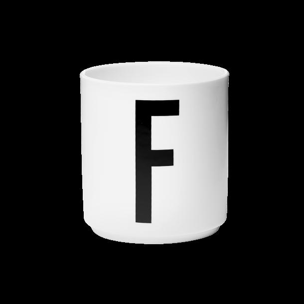 Design Letters Cup F Porcelain