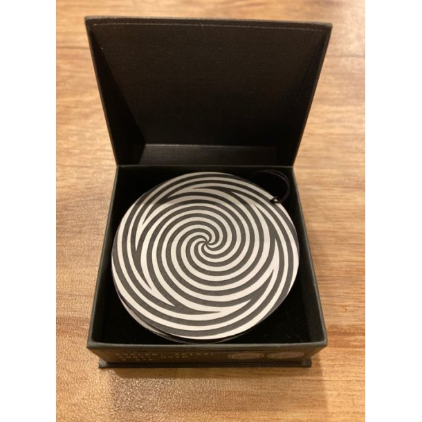 Felius kugler spiral sort/hvid