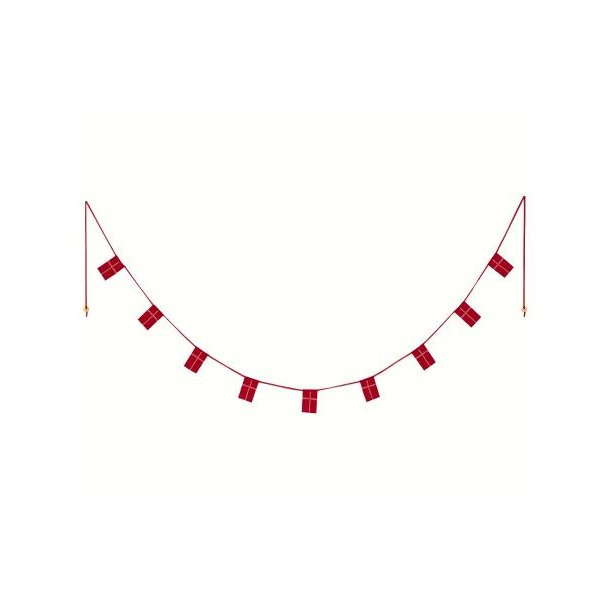 Danish Flag garland 170 cm