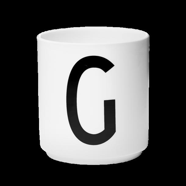 Design Letters Cup G Porcelain