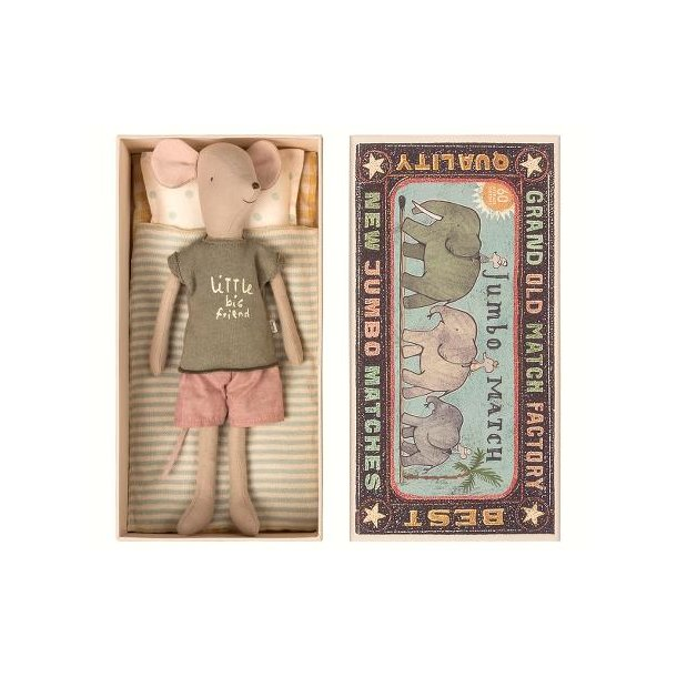 Maileg mouse in box medium boy