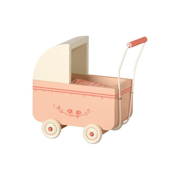 Maileg pram large light pink