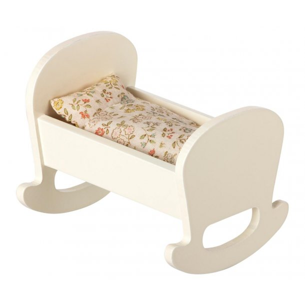 Maileg cradle baby mouse