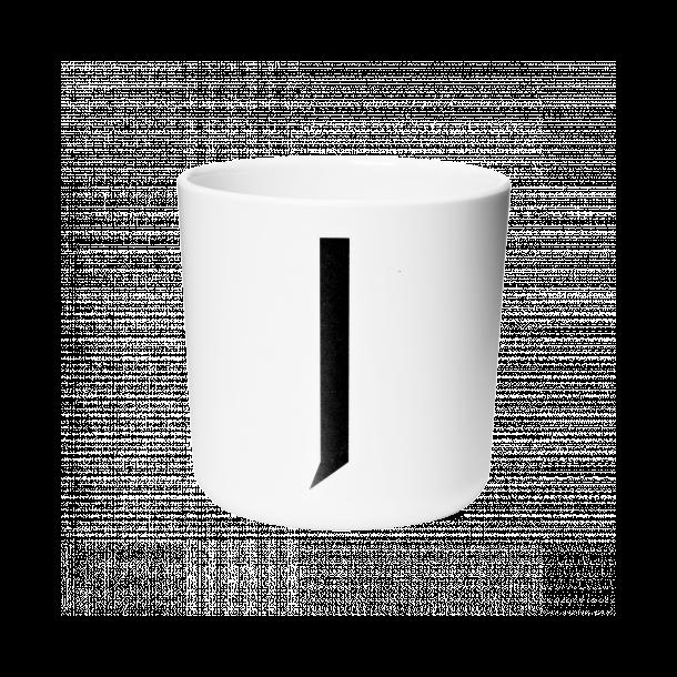 Design Letters Cup J melamine