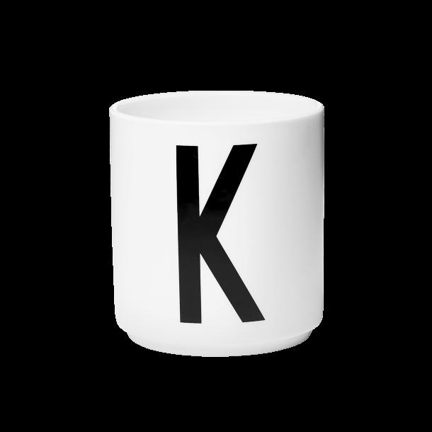 Design Letters Cup K Porcelain
