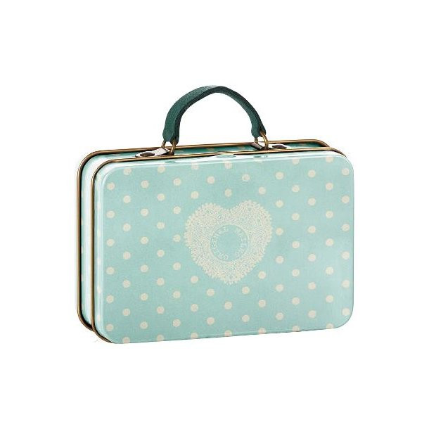 Maileg Metal suitcase dusty blue