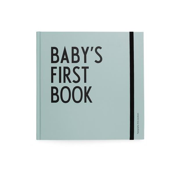 Design Letters Baby's Book turkis