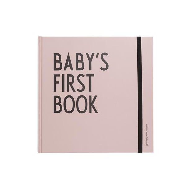 Design Letters Baby's Book rosa