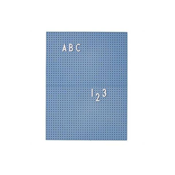 Design Letters Message Board blå