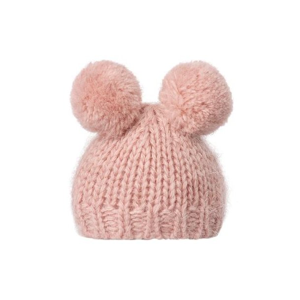 Bedst friends knitted hat heather
