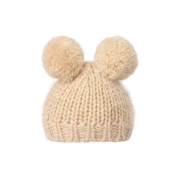Bedst friends knitted hat cream