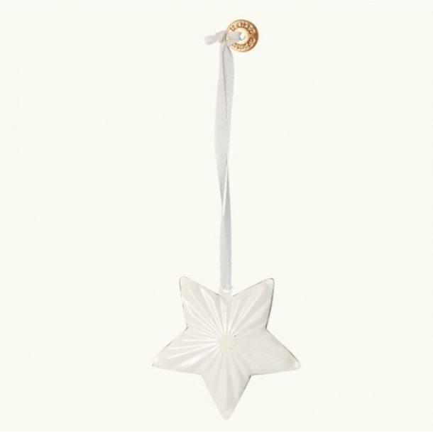 Maileg ornament stjerne off white