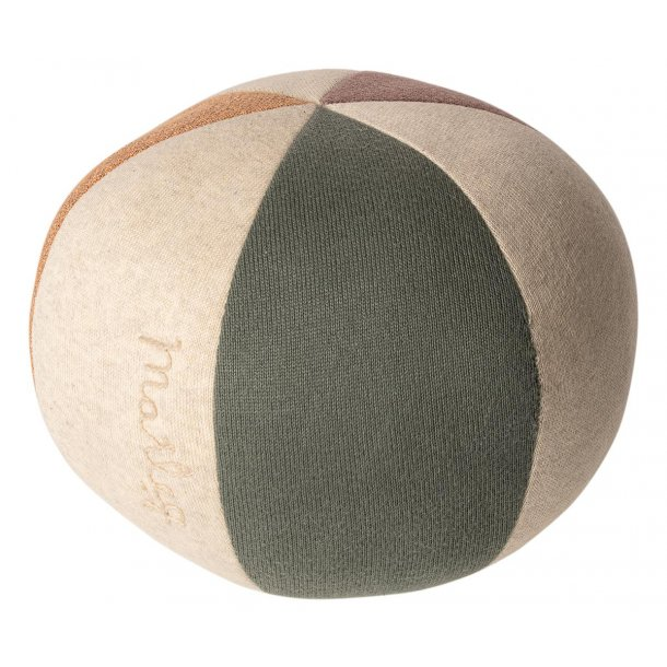 Ball, Dusty green/Coral glitter 19-