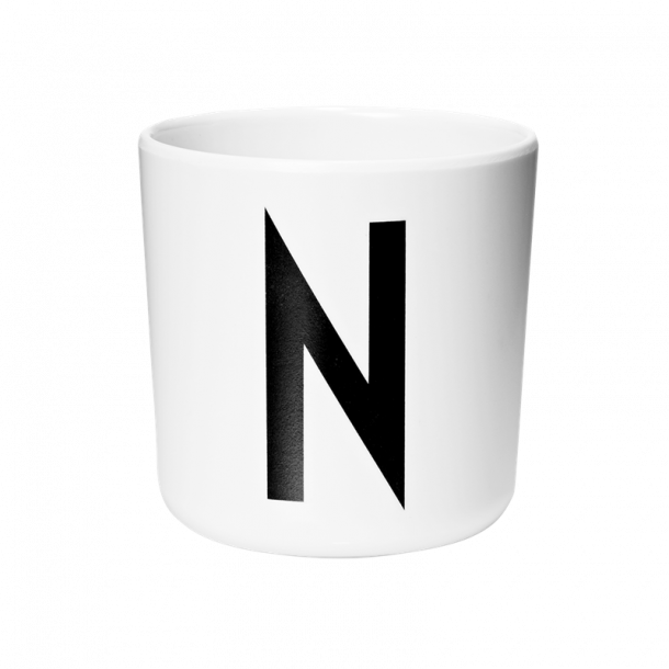 Design Letters Cup N melamine