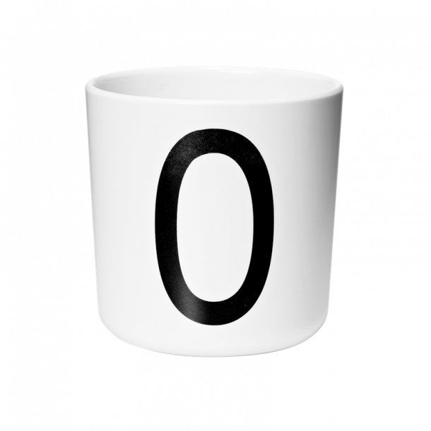 Design Letters Cup O melamine