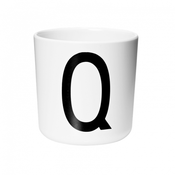 Design Letters Cup Q melamine