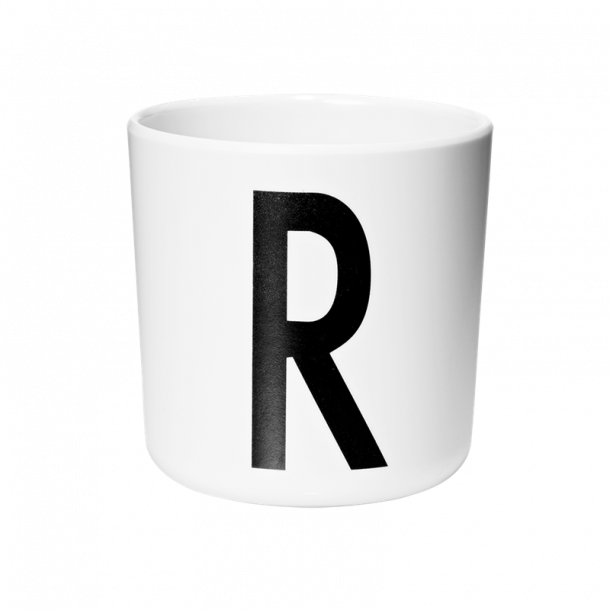 Design Letters Cup R melamine