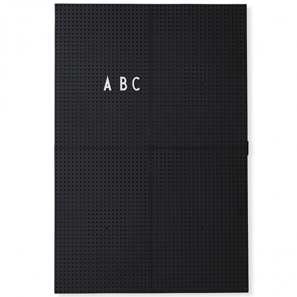 Design Letters Message Board black