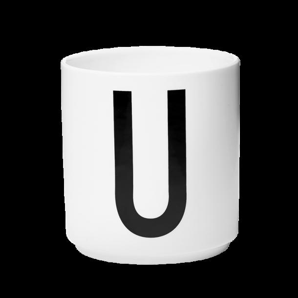 Design Letters Cup U Porcelain