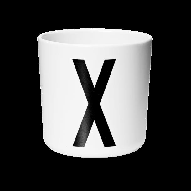 Design Letters Cup X melamine
