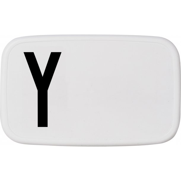 Design Letters Lunch Box Y