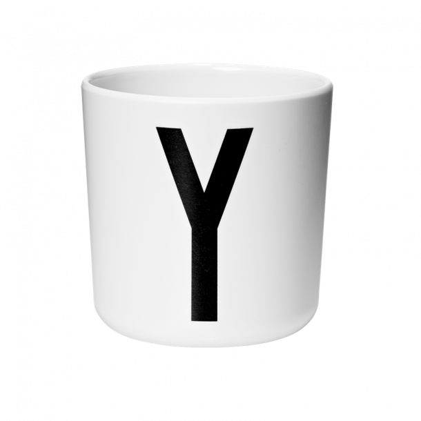 Design Letters Cup Y melamine