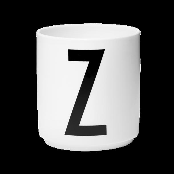 Design Letters Cup Z Porcelain